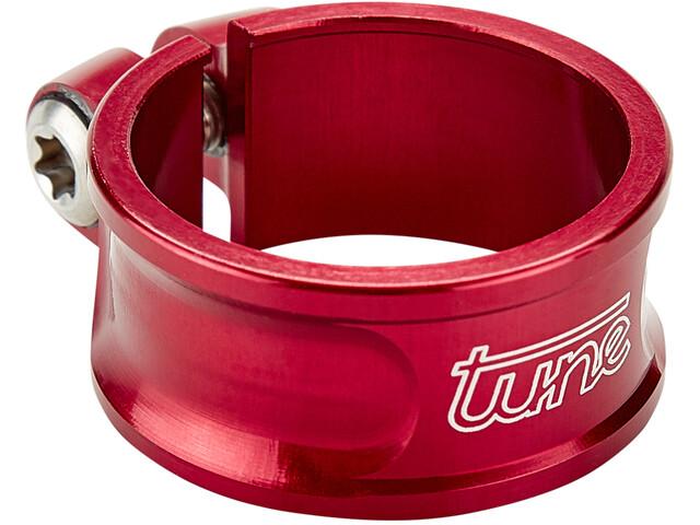 Tune Schraubwürger Seatpost Clamp Ø31,8mm red